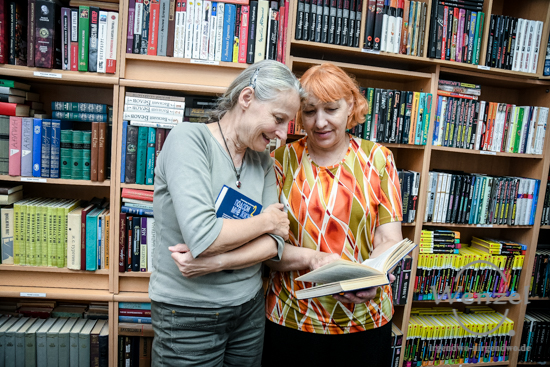 11. Magdeburger Freiwilligentag  –  Offene Bibliothek Meridian  –  Foto Wenzel-Oschington.de