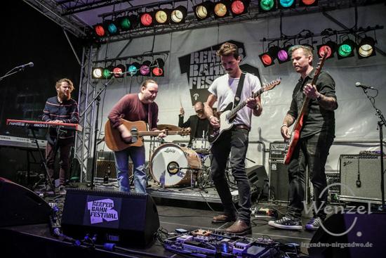 Reeperbahn Festival 2016 - Deerborn - Spielbude –  Foto Wenzel-Oschington.de