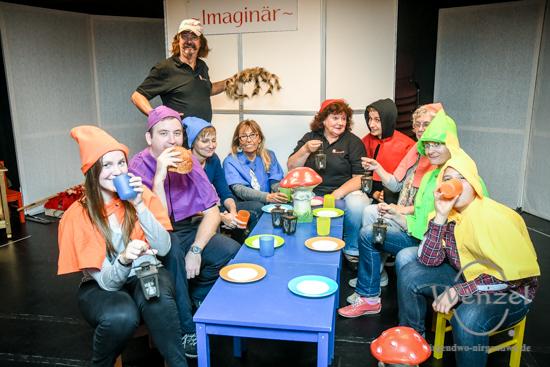 11. Magdeburger Freiwilligentag  –  Hilfe für Schneewittchen - Theaterkiste –  Foto Wenzel-Oschington.de