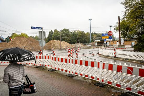 Baustelle City-Tunnel, Magdeburg, Oktober 2016 –  Foto Wenzel-Oschington.de