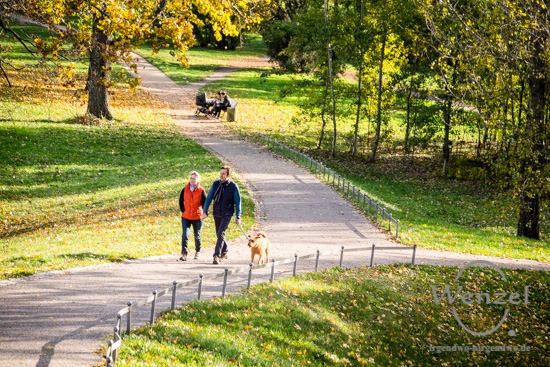 Herbst Spaziergang Rotehornpark Magdeburg –  Foto Wenzel-Oschington.de