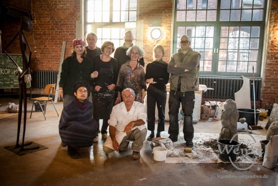 Internationales Künstlertreffen im H2O Turmpark Salbke –  Foto Wenzel-Oschington.de