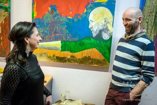 Männer, MoniLisa, Volksbad Buckau –  Foto Wenzel-Oschington.de