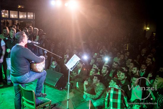 Newroz, Magdeburg, Moritzhof, Teilhabe Festival, Ferhat Tunç –  Foto Wenzel-Oschington.de
