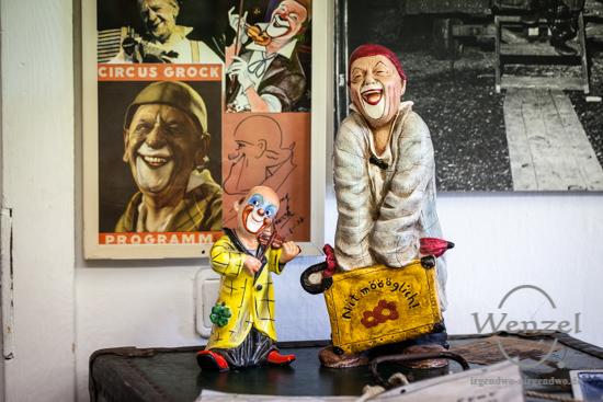 Zirkusmuseum öffnet in neuen Räumlichkeiten –  Foto Wenzel-Oschington.de