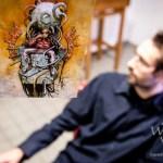 Simon Lejeune alias Haedre – Science-Fiction und surrealer Cyberpunk im Konsortium