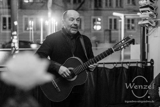 Rolf Bartholomäus – Konzert Strudelhof Magdeburg –  Foto Wenzel-Oschington.de