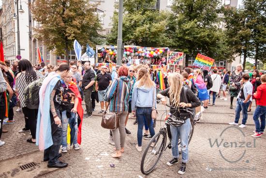 ECOC 2025, European Capitals of Culture, Kulturhauptstadt Magdeburg, Magdeburg, Magdeburg 2025, Ottostadt, CSD, Christopher Street Day, Parade, Lesben, Schwule, Bisexuelle, Transgender –  Foto Wenzel-Oschington.de
