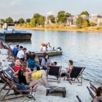 Riverside At  Night – zwischen Café Treibgut und Mückenwirt