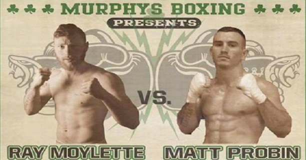 Ray Moylette second pro fight
