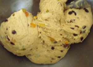 Hot Cross Bun Dough