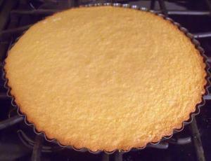 Cooked sponge cake