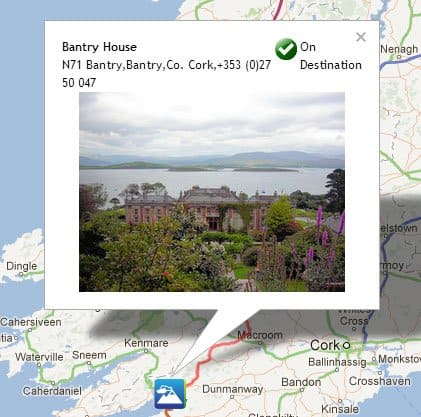 Screen shot from My Discover Ireland