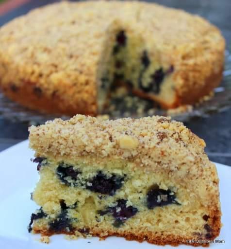 Blueberry Lemon Crumb Cake