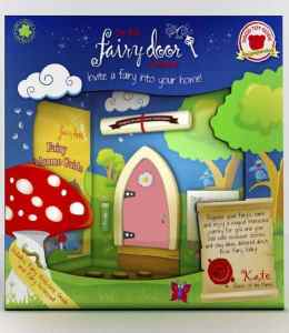 Irish Fairy Door - Pink Arched