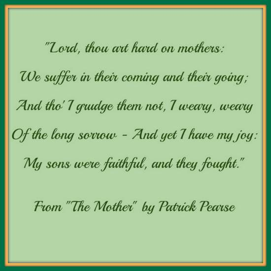 The Mother by Patrick Pearse
