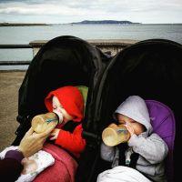 Pre #dunlaoghairepier lunch before our #Teddys ice-cream #POTD