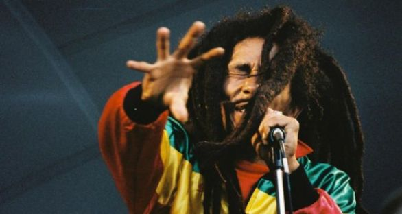 Bob Marley: his popularity spread the Rasta  gospel. Photograph: Peter Still/Redferns