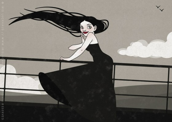 Iris Luckhaus Illustration Seestück