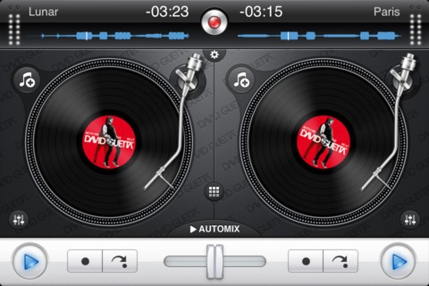 mix iphone djay david guetta