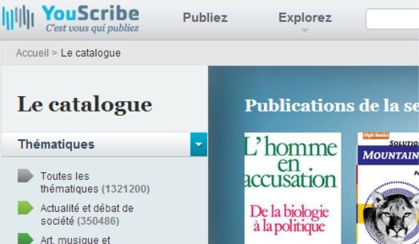 youscribe publication document numerique