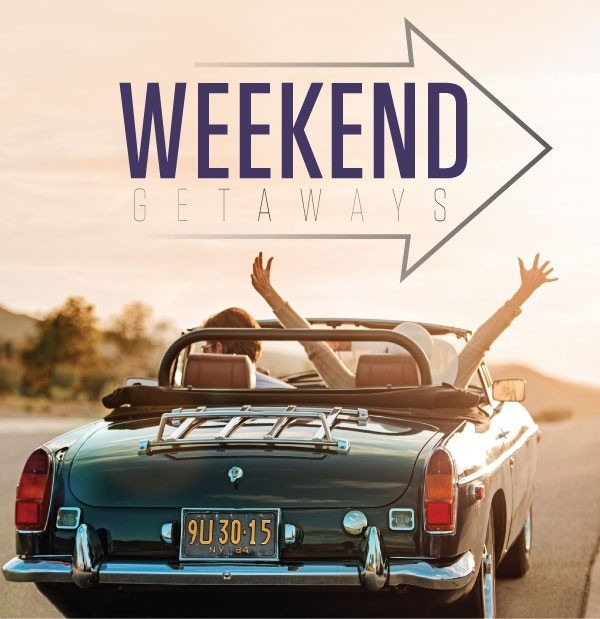 Image gallery weekend getaway for Get away for the weekend