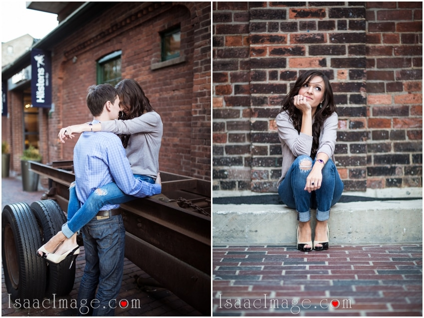 engagement toronto distillery district