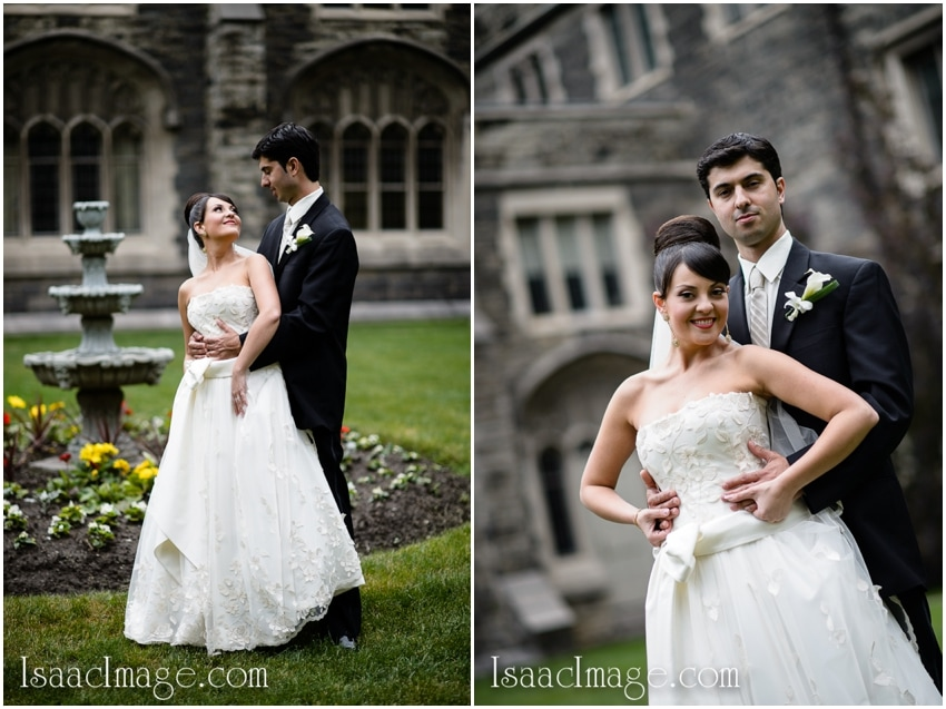 bride and groom knox college