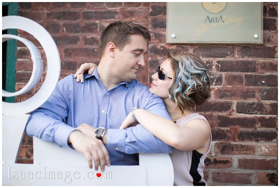 Distillery district Toronto engagement photo session Alexandra and Konstantine_0203.jpg