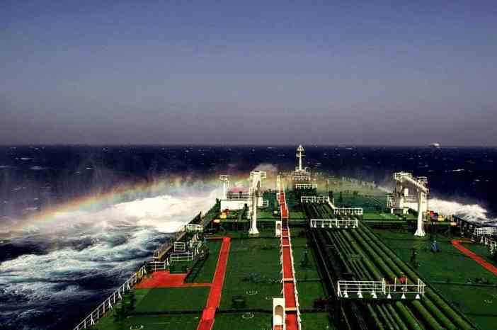 8. Rainbow around the ship. Credits to Elsa Sparou
