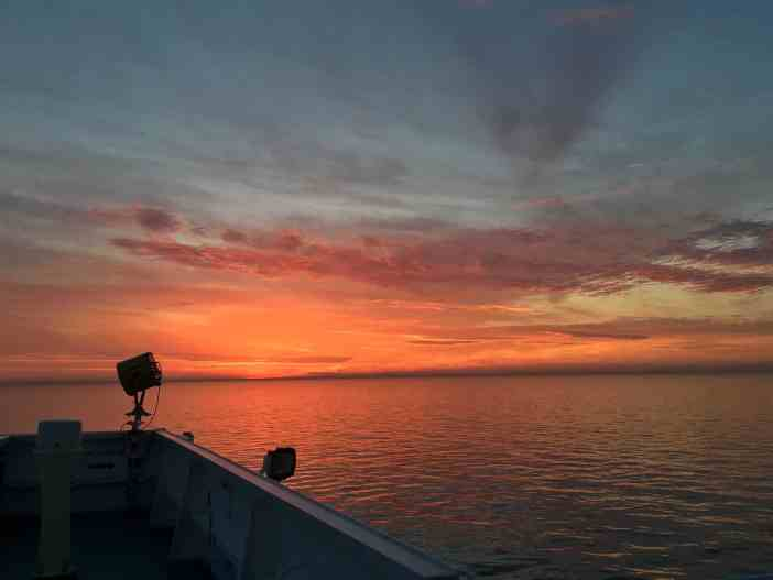 4. Red sky. Credits to Capt. Kiakotos A. Charalampos
