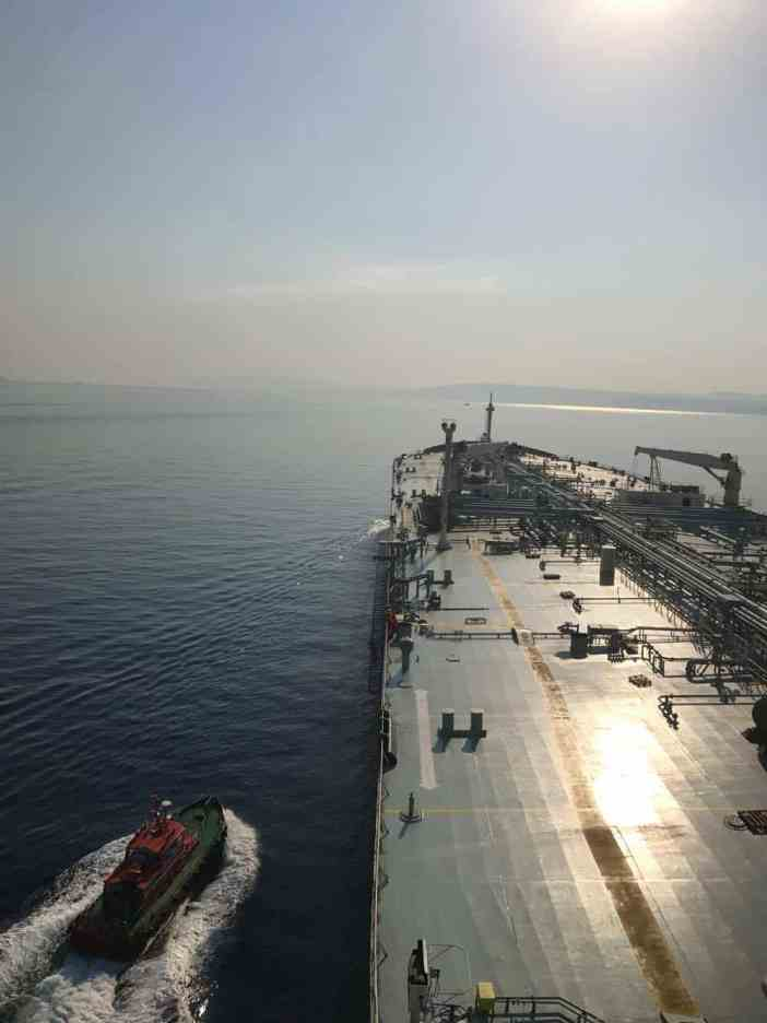2. Minerva Doxa at the Turkish Straits. Credits to Pantelis Paidousis