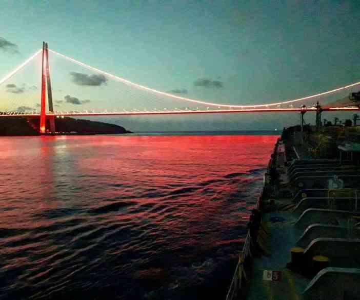 5. Bosporus. Credits to Christos Ioannou