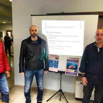 Εκπρόσωποι του 4ου Εσπερινού ΕΠΑΛ Κοζάνης