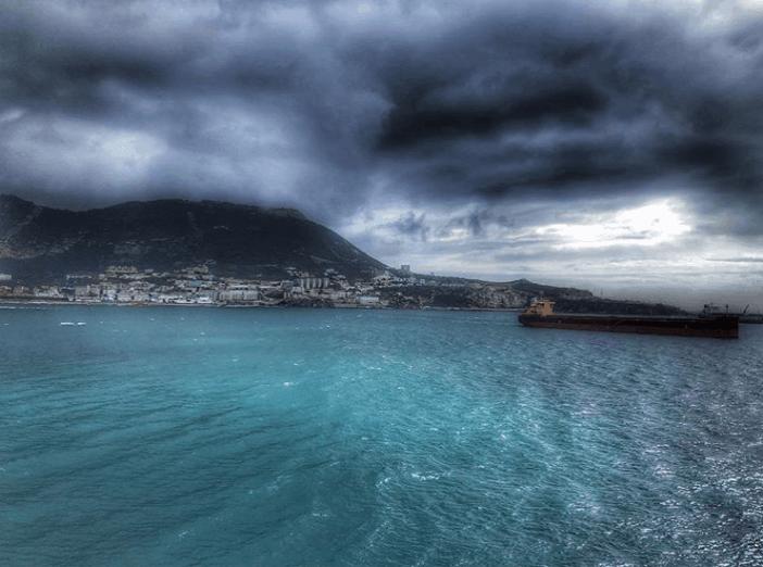 1. Bay of Gibraltar. Credits to Christos Matias
