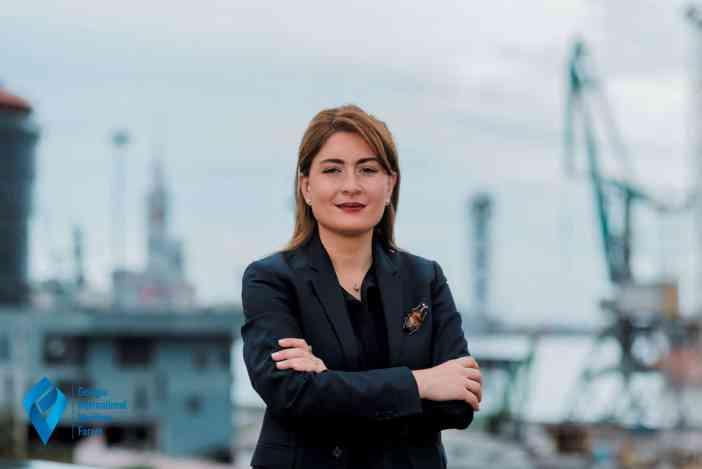 Η διευθύντρια της Υπηρεσίας Θαλασσίων Μεταφορών της Γεωργίας, Tamara Ioseliani