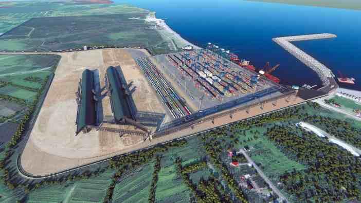 Ο λιμένας της Ανάκλια, η νέα εμπορική πύλη της κεντρικής Ασίας και του Καυκάσου
