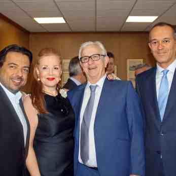 (Α-Δ): Ο κ. Γιώργος Αλεξανδράτος, η κα Ειρήνη Νταϊφά, ο κ. Θεόδωρος Βενιάμης και ο κ. Γιώργος Αγγελόπουλος