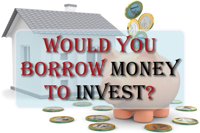 Would You Borrow Money To Invest?