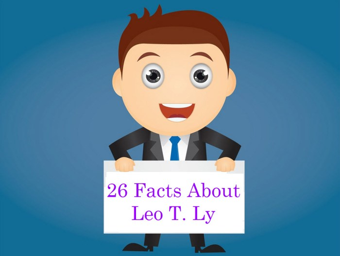 Facts About Leo T. Ly