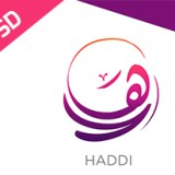 Arabic Calligraphy Logo PSD