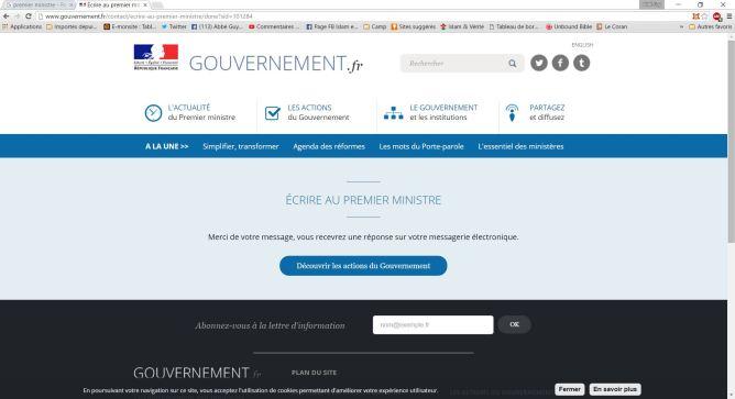 Courriel Manuel Valls 2.02.16