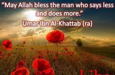 Umar Ibn Al-Khattab Quotes-Islam