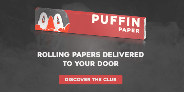 Puffin Paper Club | Rolling Papers To Your Door