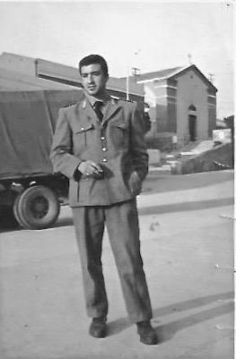 Asinara 1966 - L'Agente Emo Nisini a Cala d'Oliva