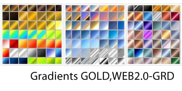 gold gradients