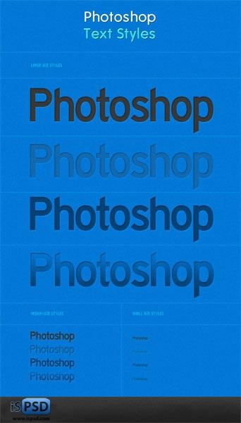Photoshop_Text_Styles