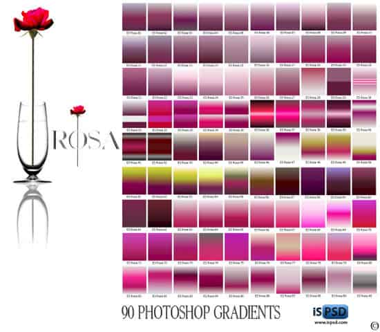 Rose Gradients GRD