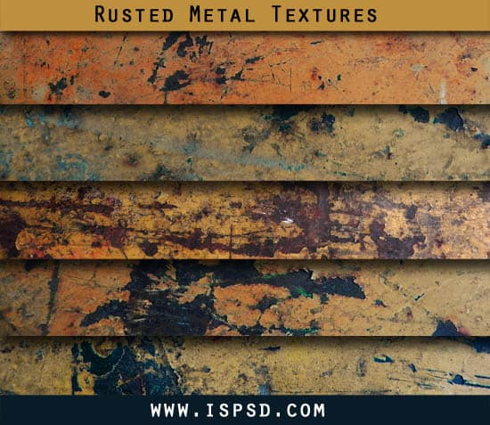 Rusted Metal Textures PAT