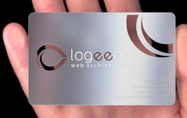 logeen business cards